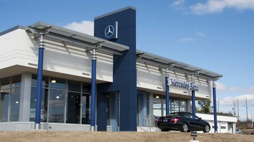 Mercedes benz financial services takes pole position once for Mercedes benz financial login